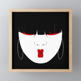 Modern Geisha #2 Framed Mini Art Print