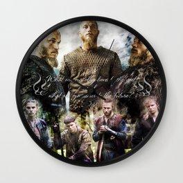 Ragnar's sons Wall Clock