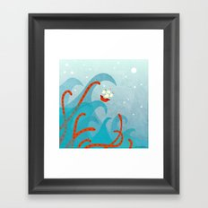 A Bad Day for Sailors Framed Art Print