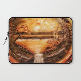 Africa is alive Laptop Sleeve