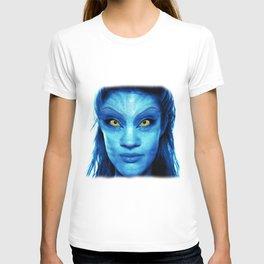Angelina Jolie Avatar T-shirt