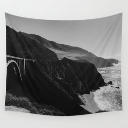 Bixby Creek Bridge - Big Sur, California Wall Tapestry