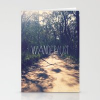 wanderlust Stationery Cards featuring Wanderlust by Louise