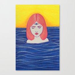 Third Eye Open Canvas Print
