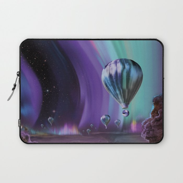 NASA Retro Space Travel Poster #7 Juniper Laptop Sleeve
