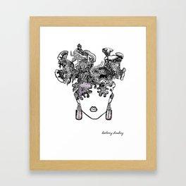 Maze mind Framed Art Print