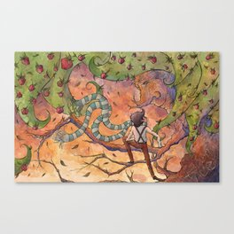 Ode to The Giving Tree Canvas Print