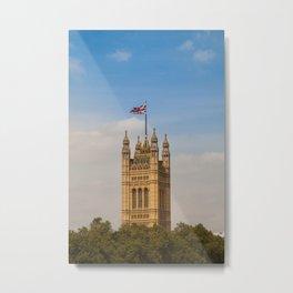 Victoria Tower Metal Print