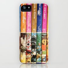 Books iPhone (5, 5s) Slim Case