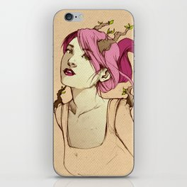 Head Brancher iPhone Skin