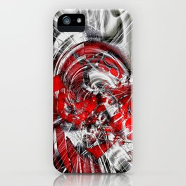 Blind in the storm iPhone Case