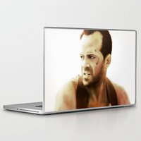 die hard Laptop & iPad Skins featuring Die Hard by Alexia Rose