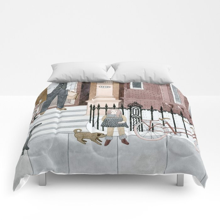 Family Out Comforters