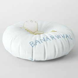 Banarwhal Floor Pillow