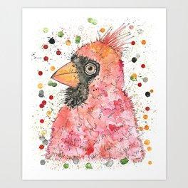 {Watson} the Cardinal Art Print