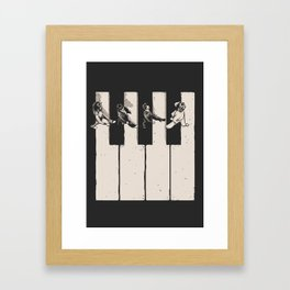 Music is the Way Framed Art Print