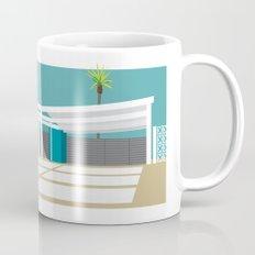 mid-century modern house four Mug