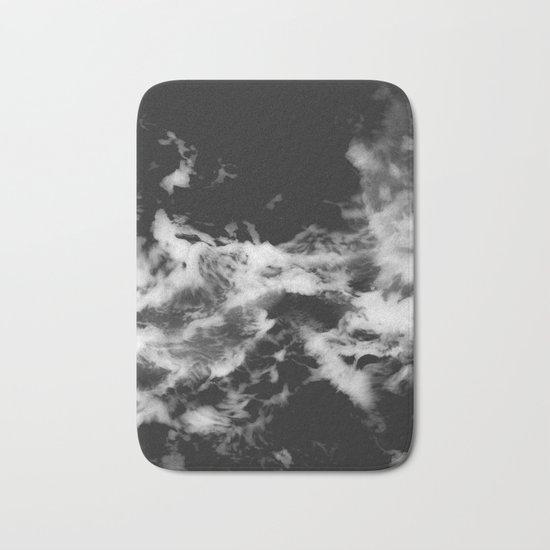 Waves of Marble Bath Mat