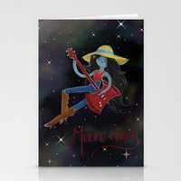 marceline Stationery Cards featuring Marceline  by Bunny Frost