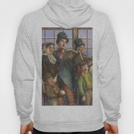Christmas Carolers Hoody
