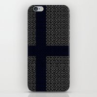 finland iPhone & iPod Skins featuring digital Flag (Finland) by seb mcnulty