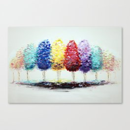 Personal Forest Canvas Print