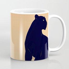 Sunset Black Panther Coffee Mug