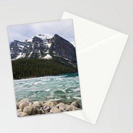 Winter Photography: Frozen Lake - Lake Louse, Banff, Canada Stationery Cards