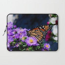 Butterfly on Asters III Laptop Sleeve