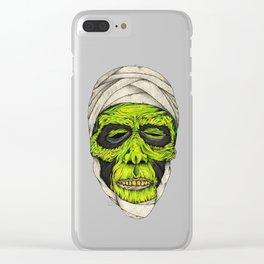 Mummy Head Clear iPhone Case