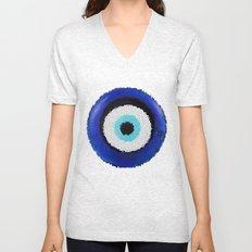 Blue eye Luck Unisex V-Neck