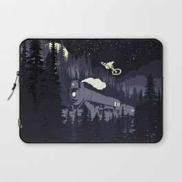 Over The Train Laptop Sleeve