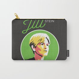 Jill Stein - Vote Green Party Political Art Carry-All Pouch