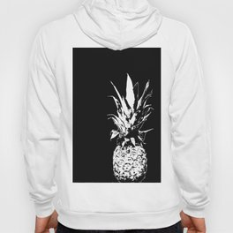 Pineapple Black and White #decor #society6 Hoody