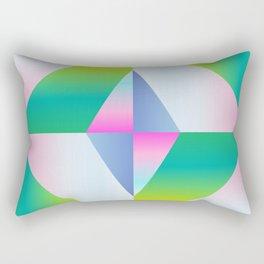 colorful vibration Rectangular Pillow