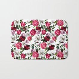 Fashion Floral Pattern Bath Mat