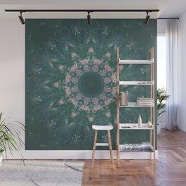 Amazon Emerald Gemstone Mandala No. 39 Wall Mural