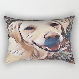 Yellow Labrador Retriever Rectangular Pillow