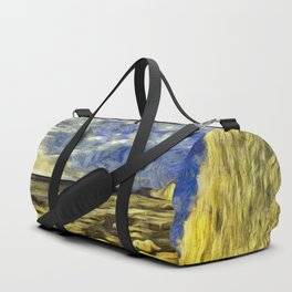 Birling Gap And Seven Sisters Van Gogh Duffle Bag