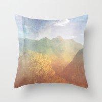 montana Throw Pillows featuring Montana by Tosha Lobsinger is my Photographer