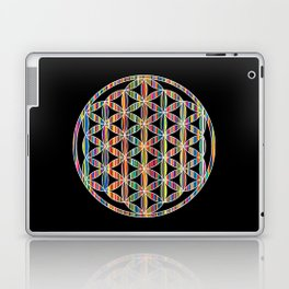 Flower of Life Colored | Kids Room | Delight Laptop & iPad Skin