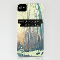 Wander Aimlessly  iPhone (4, 4s) Slim Case