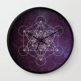 Star of Metatron Wall Clock