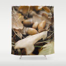 Acorns Shower Curtain