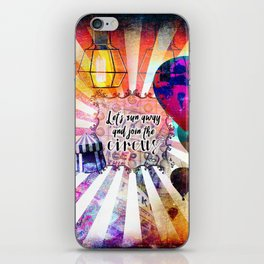 Join the Circus iPhone Skin