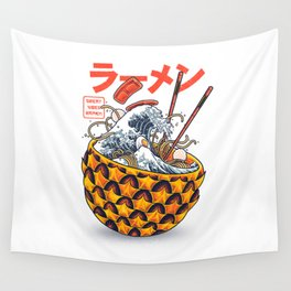 Great vibes ramen Wall Tapestry