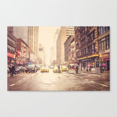 Rainy Day in NYC Canvas Print