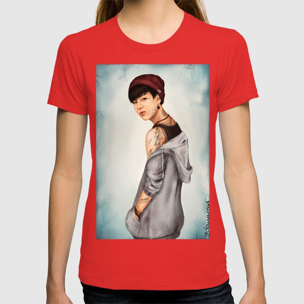 Tattooed Bambam (GOT7) - digital art T-shirt