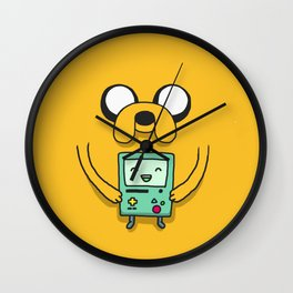 Jake and BMO Wall Clock