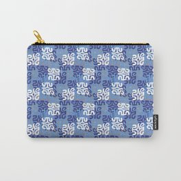 Swanky Mo Blue Carry-All Pouch